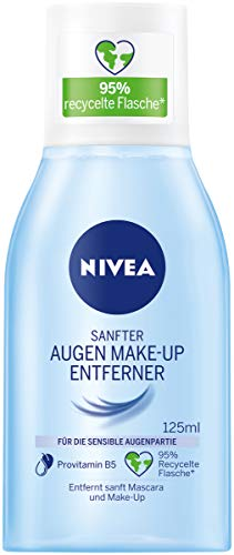 NIVEA Sanfter Augen Make-up Entferner für die sensible Augenpartie, 125 ml