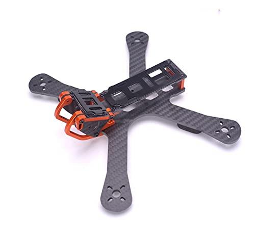 DingPeng for Chameleon.FPV.Telaio 5'220mm FPV.Parti di Ricambio del Telaio di Unibody Quad Freestyle for Chameleon Qav-x. FPV Racing Drone Quadcopter Accessori Ricambi (Color : Full Set)