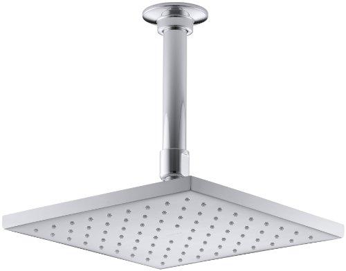 KOHLER 13695-CP Contemporary Square Rainhead with...