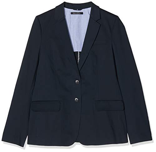 Marc O'Polo Damen 701003880085 Blazer, Blau (Deep Sea Blue 899), 40