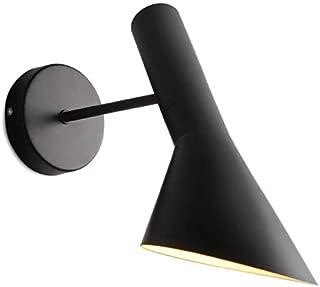 千飾 ブラケットライト ウォールランプ デザイナーズ Arne Jacobsen 北欧デザイン インテリア照明 AJウォール AJ Wall リプロダクト 北欧 壁付 ウォールライト アルネヤコブセン ブラック