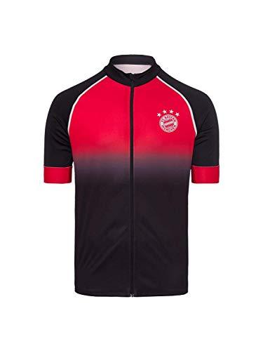 FC Bayern München Fahrradtrikot FC Bayern schwarz/rot, L
