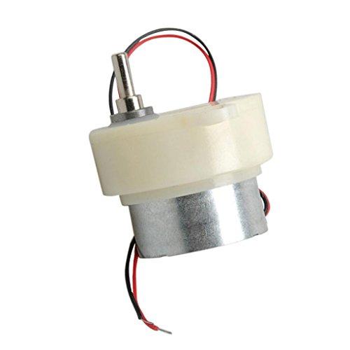 D DOLITY Mini Getriebemotor Motor DC 3-6-12V Minimotor Getriebe Elektromotor für Modellbau