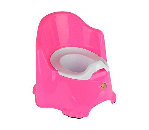30082 Vasino poltroncina ergonomico 31 x 25 cm interno rimovibile antiscivolo. MEDIA WAVE store (Rosa)