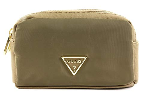Guess Did I Say 90s? Double Beauty Bag Olive Green