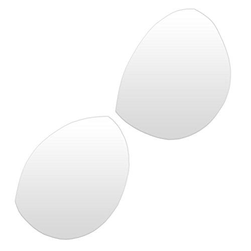 HAND 003 White Comfort Sew in Bra Cups/Bra Making - Small - 2 Pairs