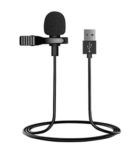 USB Lavalier Lapel Microphone