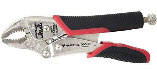 VAMPLIERS JAWZ 7.5' BEST SCREW EXTRACTION LOCKING PLIERS,'World's Best Pliers' for Damage,Rusted,Stripped,Security,Specialty Screws/Nuts and Bolts. VT-003-7LP Makes the Best Gift for any Season
