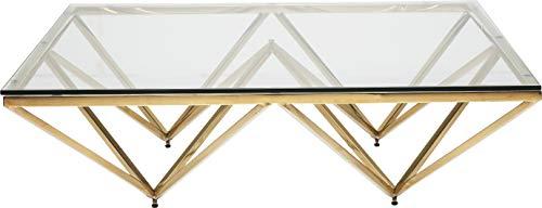 Kare Design Table Basse Network 105x105cm dorée