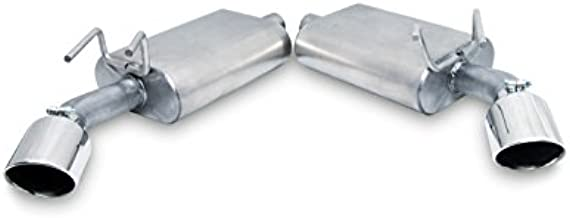 Gibson Performance 320001 Axle Back Dual Exhaust System, Aluminized