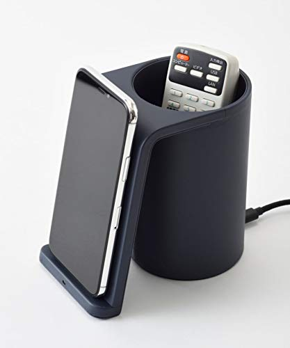 BRUNOワイヤレス充電器ネイビーブルーノワイヤレスチャージャーマルチスタンドテレワーク在宅ワーク在宅勤務BDE049-NV