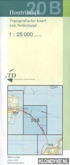 Topografische kaart van Nederland: Houtribdijk 20B - 1:25000