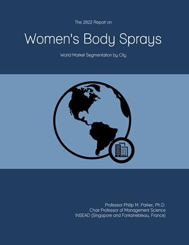 The 2022 Report on Women\'s Body Sprays: World Market Segmentation by City