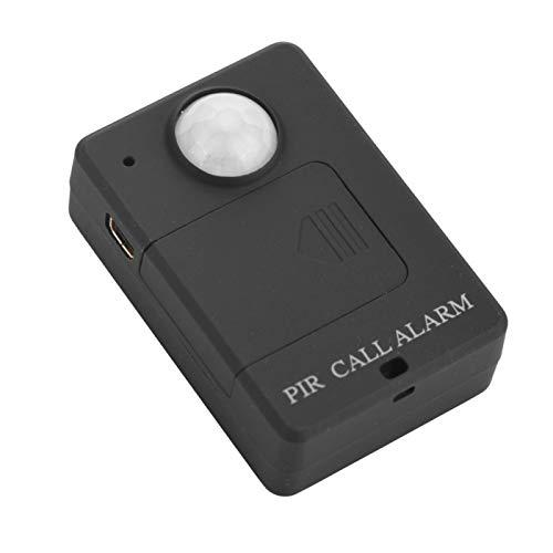 Liyoo Alarma inductiva, Alarma antirrobo, Dispositivo de Alarma antirrobo de inducción del Cuerpo Humano, inducción infrarroja, oficinas para(100-240V European Standard)