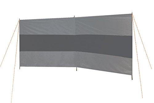 Bo-Camp BC 2-compartments Windschutz–GRAU/ANTHRAZIT,