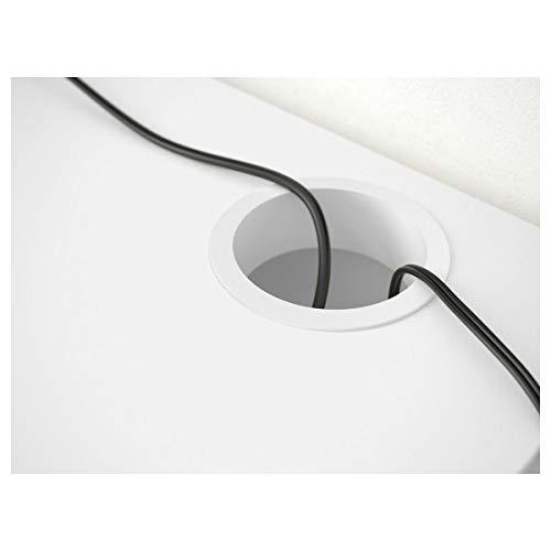 2er Set IKEA MICKE Schreibtisch weiß (73x50x75cm)