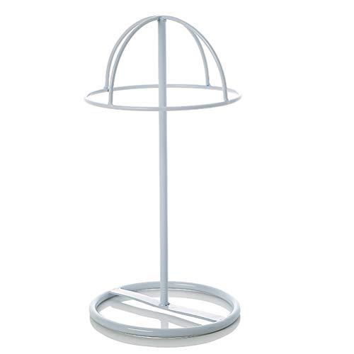 GFPR Display Ständer Dome Form Perücken Schmuck Ohrringe Headwear Hüte Ständer Regal für Bekleidungsgeschäft, Schaufenster, 16 * 30cm White