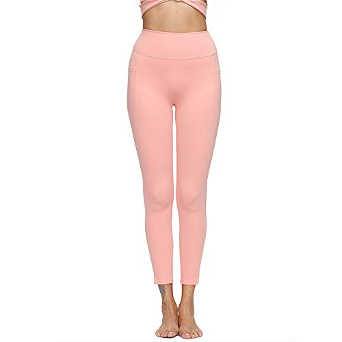 ZGRNPA Damen Yogahosen Jogginghose Sportliche Hosen Bauchweg für Fitness, Yoga, Pilates lang mit Handytasche Tights High Waist Yogahose Sport Naked Sensation Multisport Legging Hose mit Taschen