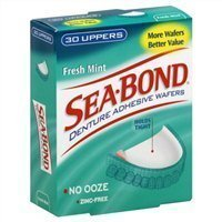 Sea Bond Uppers Mint 30 Count (Pack of 4) by Sea-Bond