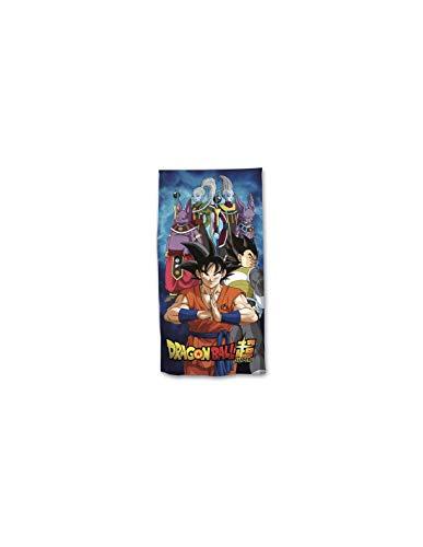NEW IMPORT Toalla Dragon Ball Super Microfibra Playa Piscina 140X70cm