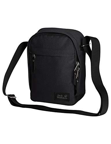 Jack Wolfskin Unisex– Erwachsene Heathrow Freizeittasche, Ultra Black, One Size