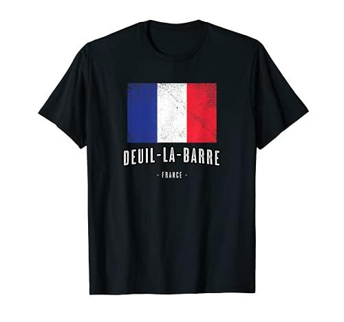 Deuil-la-Barre Francia   FR Città Bandiera - Drapeau - Maglietta