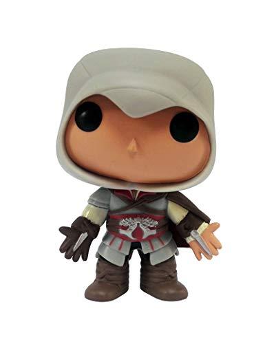 Pop! Assassin'S Creed: Ezio Muñeca Figura de Vinilo de Juguete Coleccionable Modelo de Oficina Multicolor
