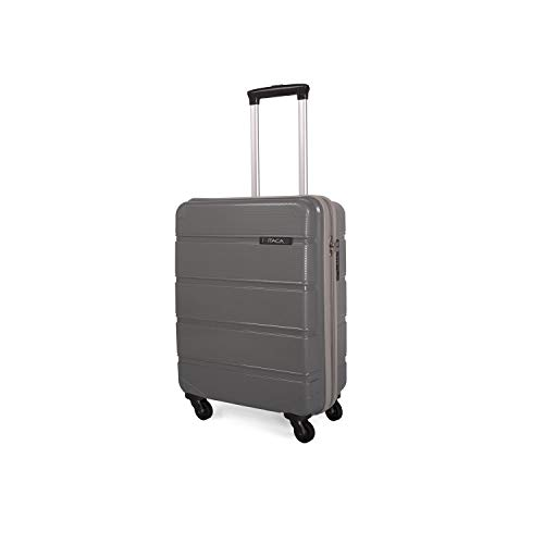 ITACA - 67650 TROLLEY Polipropileno LOW COST, Color Gris