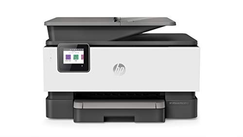 HP OfficeJet Pro 9012 Multifunktionsdrucker (HP Instant Ink, A4, Drucker, Scanner, Kopierer, Fax, WLAN, LAN, Duplex, HP ePrint, Airprint, mit 2 Probemonaten HP Instant Ink Inklusive) Basalt