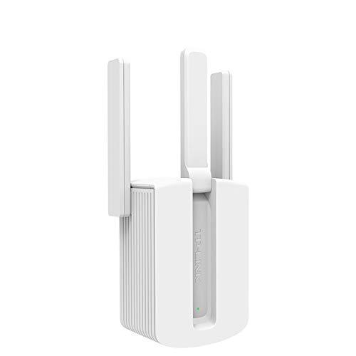 KS Repetidor de Wifi,450 Mbps Antena Externa Tres Amplificador de Red Wifi Booster,2.4G Adecuado para el Hogar,la Oficina. Señal Inalámbrica Repetidores Amplia Cobertura/blanco / War933 r