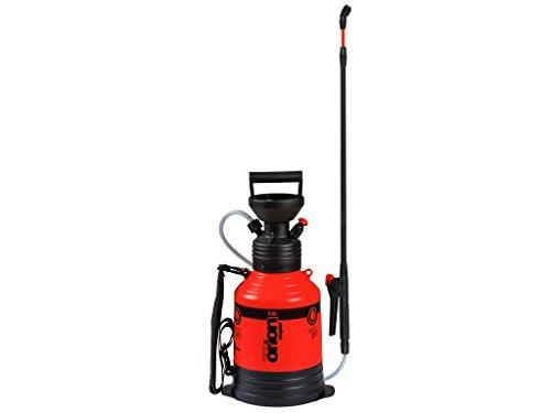 Kwazar 20010005 Pulverizador a presión Orion Super con correa de transporte de 3.0 L, para el jardín, pesticidas, pesticidas, resistente a químicos, rojo, 22 x 22 x 64 cm