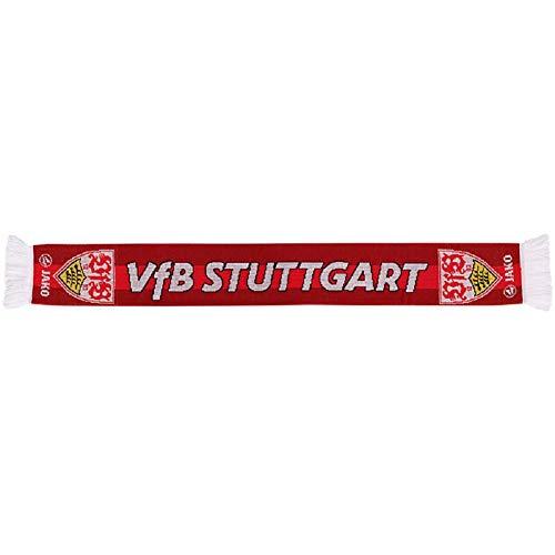 JAKO VfB Stuttgart Fanschal Schal (one Size, rot/weiß)