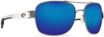 Costa Del Mar Cocos Blue Mirror 580P Aviator Men's Sunglasses