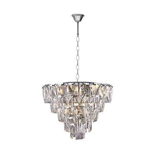 MILAGRO kroonluchter kristal moderne hanglamp plafondlamp met juwelen van kristal E14 koninklijke kroonluchter