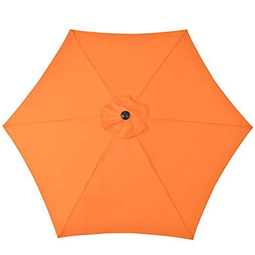 YRRA Parasol,Sombrilla Playa Sombrilla De Aluminio Diámetro 270 Cm Protección UV Y Impermeable para Jardín, Terraza, Balcón Patio,I