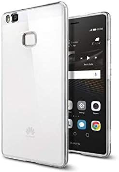 Spigen Coque Huawei P9 Lite, [Liquid Crystal] - Silicone Souple - Transparent Ultra-Fine Coque Etui Housse pour Huawei P9 Lite (L05CS20298)