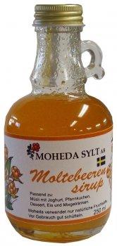 Moheda Sylt Moltebeeren Sirup 0,25 l