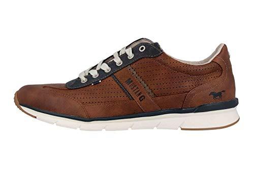 MUSTANG Shoes Halbschuhe in Übergrößen Braun 4137-301-301 große Herrenschuhe, Größe:49