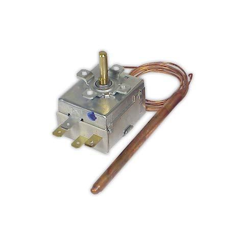 DOJA Industrial | Termostato 0/90° IMIT Sin mando | Temp. 0/90° Bulbo 95 mm diámetro 6,5 mm/Conmutado