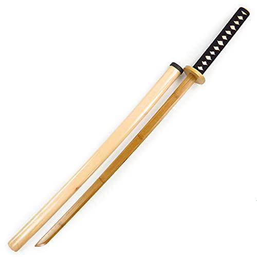 toy Los Juguetes De Los Children De Adultos No Están Forrados Sword Art Martial Arts Practice Ninja Sword Samurai Blade, Wood 105cm