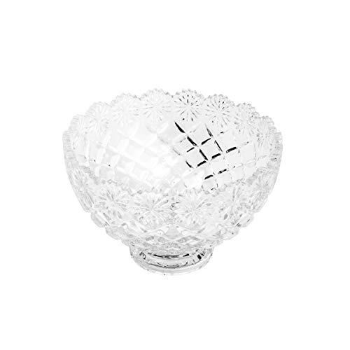 Centro de Mesa de Cristal Diamond Lyor Transparente 20.2Cm