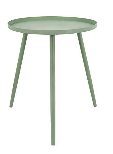 Present Time - Table d'appoint métal Vert Jade Large Elle Ø45 cm