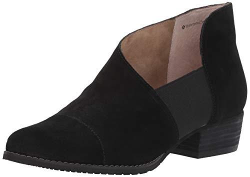 Blondo Women's IZZYS Loafer Flat, Black Suede, 7.0 Medium US
