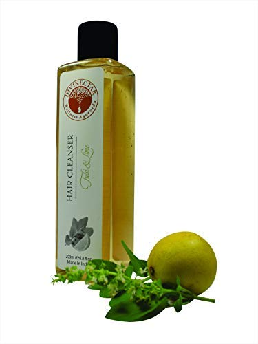 Divinectar Nashville-Davidson Mall Natural Hair Sale item Cleanser Lime with Tulsi -200ml