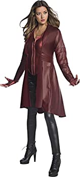 Rubie s Women s Marvel Avengers  Endgame Scarlet Witch Costume As Shown Small