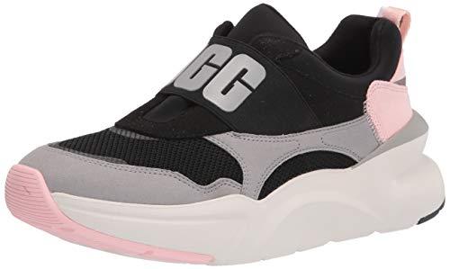 UGG Damen LA Flex Sneaker, Black/Seal, 37 EU