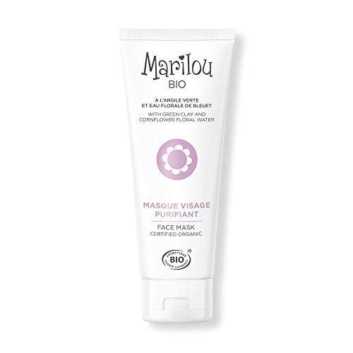 Marilou Bio - Gamme Classic - Soins pour le Visage - Masque Visage Purifiant - Tube de 75 ml - Haut les Masques !