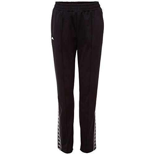 Kappa Pantalón de chándal para Mujer Helma, Mujer, Pantalones Deportivos, 308009, Caviar,...