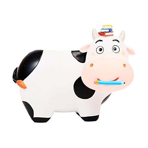 H·Aimee Florero Muebles Escultura Pinceles Titular Resina Cabeza Cemento Plantador Florero Maquillaje Pluma Titular Decoración del Hogar Vacas