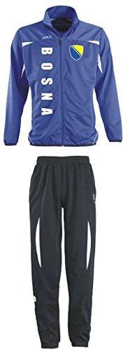Aprom-Sports Bosnien Trainingsanzug - Sportanzug - S-XXL - Fußball Fitness (XL)